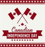 Kanada dzień, dzień niepodległości Zdjęcia Stock