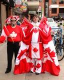 Kanada dzień w Ottawa zdjęcia stock