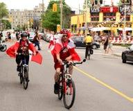 Kanada dzień w Ottawa obraz stock