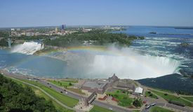 Kanada faller niagara ontario Arkivfoton