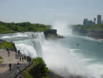 Kanada faller niagara USA Royaltyfria Bilder