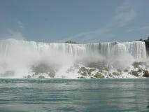 Kanada faller niagara USA arkivbilder