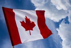 Kanada flagga Arkivfoto