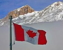 Kanada flagga Royaltyfria Foton
