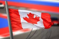 Kanada flagga Royaltyfri Bild