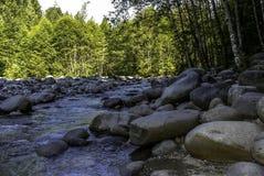 Kanada flod Arkivfoton