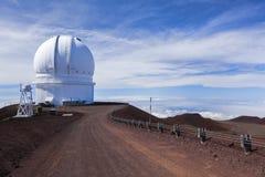 Kanada-Frankrike-Hawai mig observatorium Fotografering för Bildbyråer