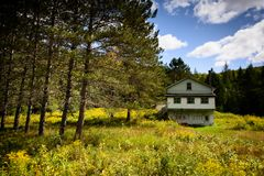 Kanada - Haus im Land Stockbilder