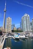 Kanada horisont vancouver Arkivfoto