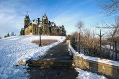 Kanada husottawa parlament Arkivfoton
