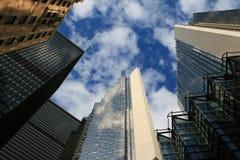 Kanada i stadens centrum skyskrapor toronto royaltyfri foto