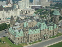Kanada iv-parlament s Royaltyfria Foton