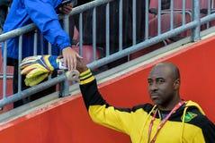 Kanada-Jamaica Men's internationell vänlig match Fotografering för Bildbyråer