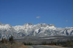 Kanada jaspernationalpark royaltyfri bild