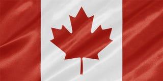 Kanada kanadensareflagga stock illustrationer