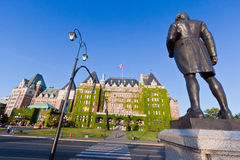 Kanada kaptenkock victoria Royaltyfri Fotografi