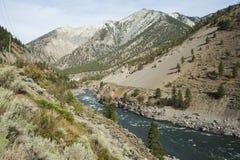 Kanada - kolumbiowie brytyjska - Fraser dolina - Lytton Obraz Stock