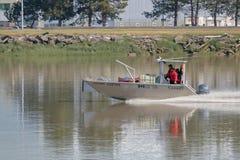 Kanada kustbevakning Crew i handling Arkivbilder