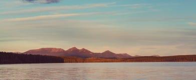 Kanada lake Arkivbild