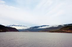 Kanada lake Royaltyfri Fotografi
