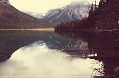 Kanada lake Arkivfoto