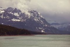 Kanada lake Fotografering för Bildbyråer