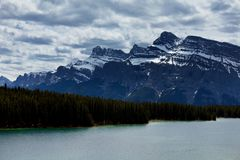Kanada lake Arkivfoton