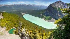 Kanada Lake Louise Arkivfoton