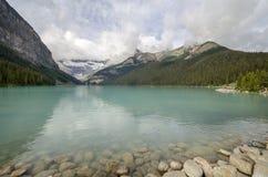 Kanada Lake Louise Arkivbilder