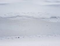 Kanada, Land des Schnees lizenzfreies stockbild