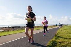 Kanada maratonontario ottawa löpare Royaltyfri Fotografi