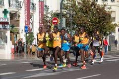 Kanada maratonontario ottawa löpare Arkivbilder