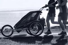 Kanada maratonontario ottawa löpare Arkivfoto