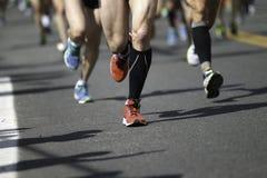 Kanada maratonontario ottawa löpare Fotografering för Bildbyråer