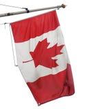 Kanada-Markierungsfahne Stockfotos
