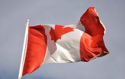Kanada-Markierungsfahne stockbild