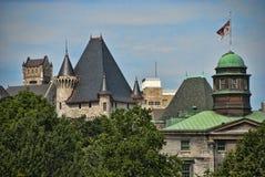Kanada montreal quebec Arkivbild