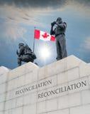 Kanada monumentontario ottawa peacekeeping Royaltyfria Foton