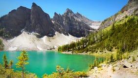 Kanada, natura krajobraz, Banff park narodowy Fotografia Royalty Free