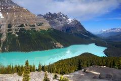 Kanada naturlandskap, Banff nationalpark Arkivbilder