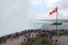Kanada Niagara Falls, sjö Royaltyfria Bilder