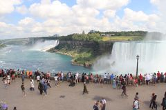 Kanada Niagara spadki, jezioro Obraz Royalty Free