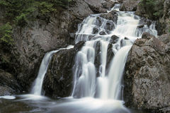Kanada Nova Scotia vattenfall Arkivbild