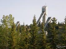 Kanada olympisk Park i Calgary Arkivfoto