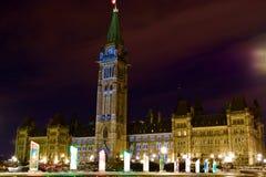 Kanada parlament Royaltyfri Fotografi