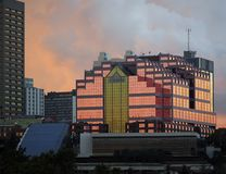 Kanada-Platz-Gebäude in Edmonton Alberta Canada Lizenzfreie Stockfotografie