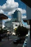 Kanada-Platz, Vancouver BC Kanada lizenzfreies stockbild