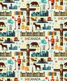 Kanada podróży kolekcja ilustracja wektor