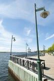 Kanada ` s Sydney Promenade Arkivfoto