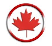 Kanada-Schild für Olympics lizenzfreie abbildung